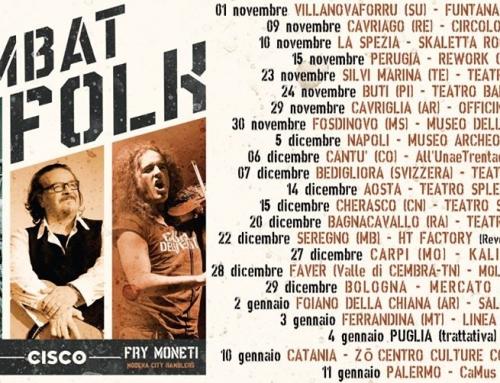 """""""Combat Folk Tour"""", Calendario quasi completo, Ecco tutte le date"""
