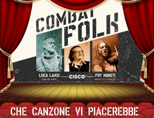 Domenica 24 novembre ore 18:00, il Combat Folk Tour arriva al Teatro Bartolo di Buti, Pisa