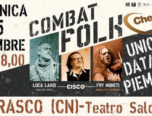 Domenica 15 dicembre ore 18:00 Cherasco CN – Unica data Piemontese del Combat Folk Tour!
