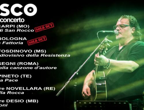 Sta giungendo al termine il piccolo tour estivo, ultimo appuntamento a Marzabotto il 03 ottobre.