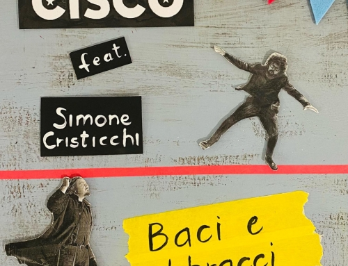 """Dal 2 di aprile il nuovo brano """"Baci e abbracci"""", cantato insieme a Simone Cristicchi, su tutti i digital store !"""
