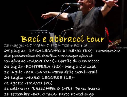 Ecco le prime date confermate del prossimo Tour estivo !
