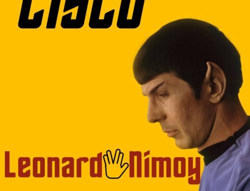 Da Venerdì 16 luglio è on line il nuovo brano di Cisco dal titolo Leonard Nimoy !